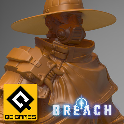 Breach: Gun Mage (player character)