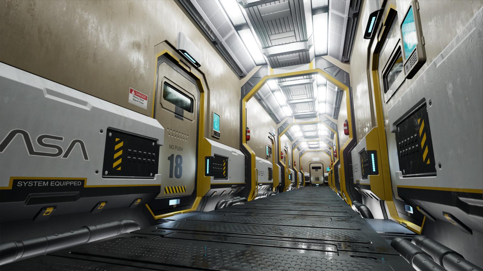 Nasa Sci Fi Corridor