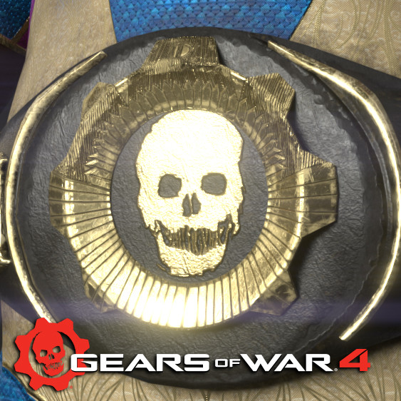 Gears of War 4: Oscar Luchador skin (2016)