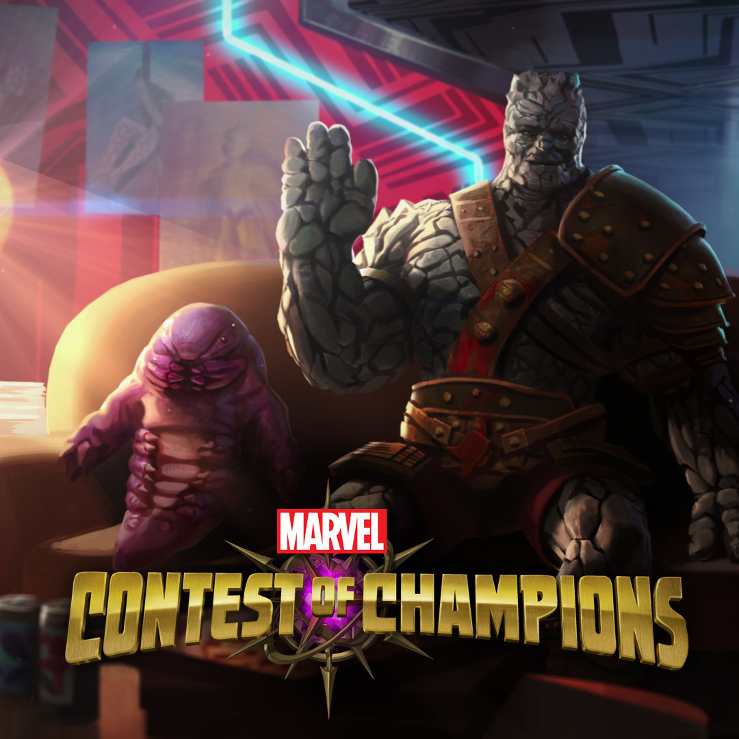 Marvel Contest of Champions - Korg Introduction Motion Comic