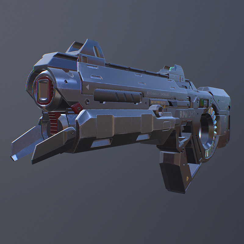 Star Citizen - Laser Rifle - FANART