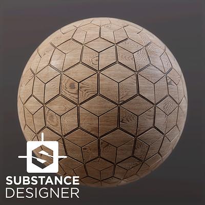 Substance Designer, Wood Tiles
