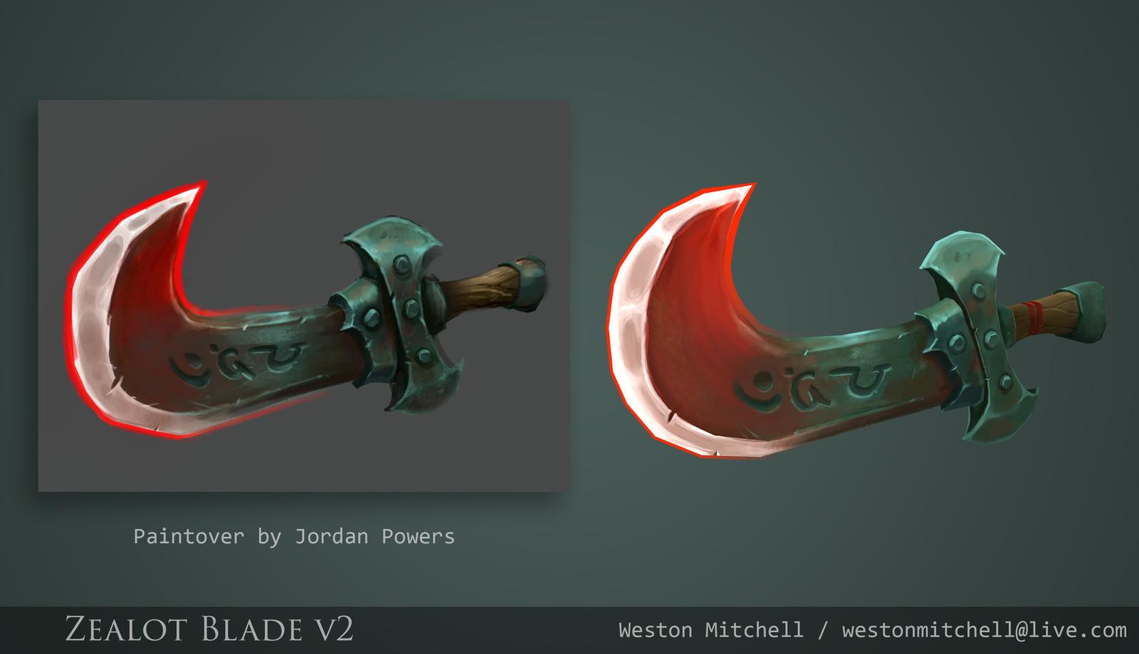 Zealot Blade - Reborn