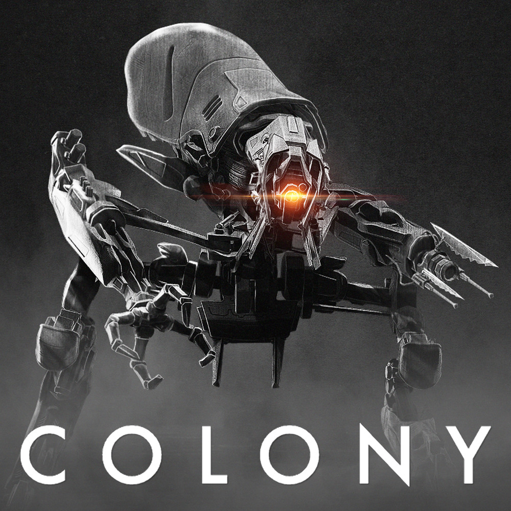 Colony Season 3 - Biped Robot Concept design