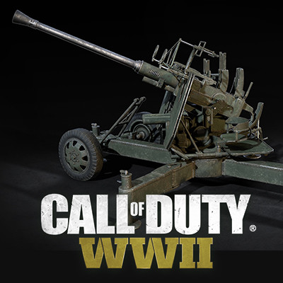Call of Duty: World War II Gib 40Mm Aa Weapon