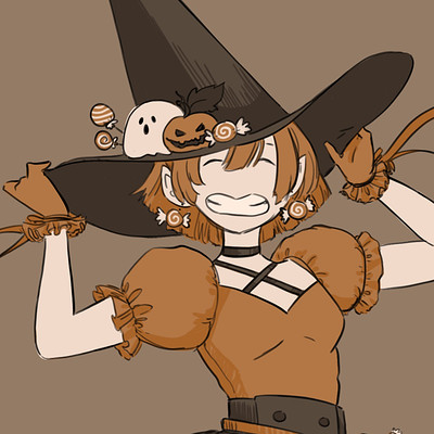 Leslie kam candy witch icon