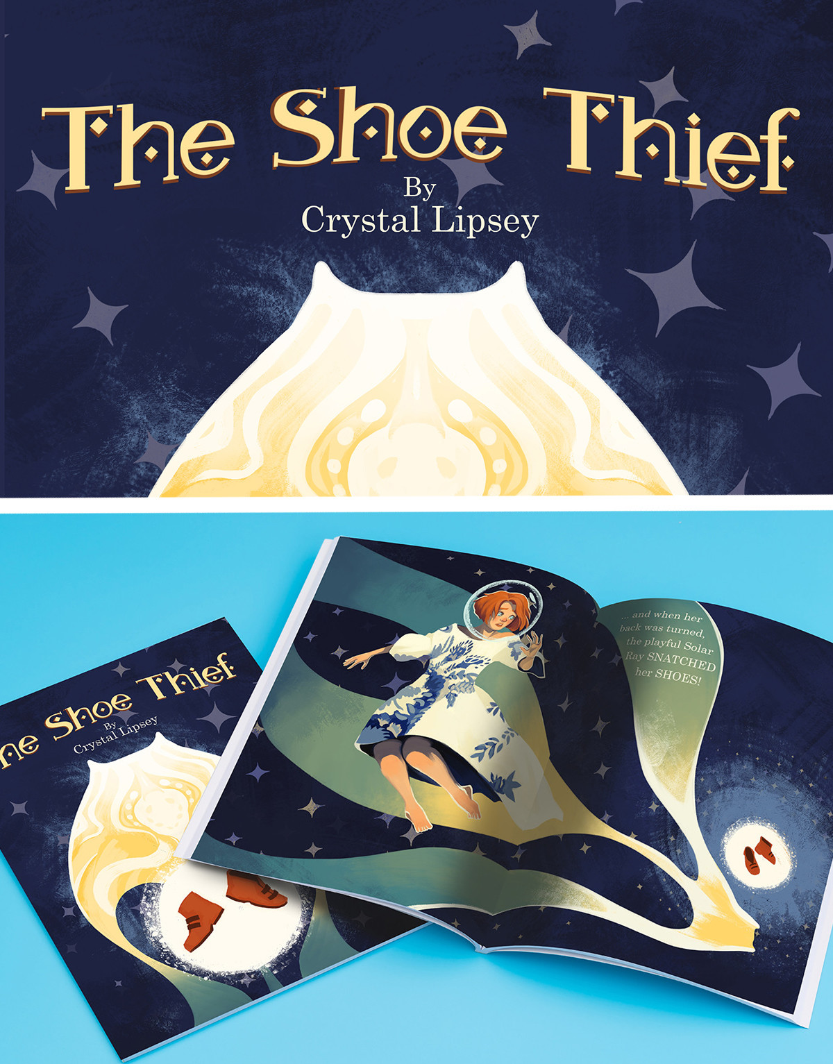 The Shoe Thief mock up