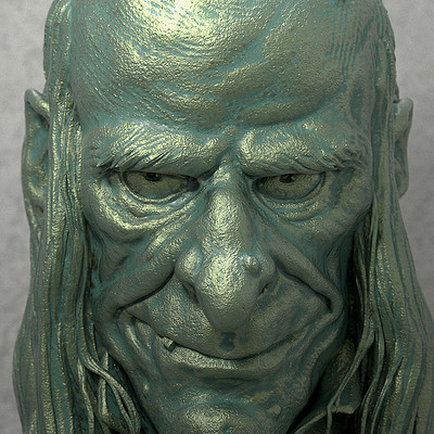 Nacho riesco gostanza uncle creepy bronze detalle