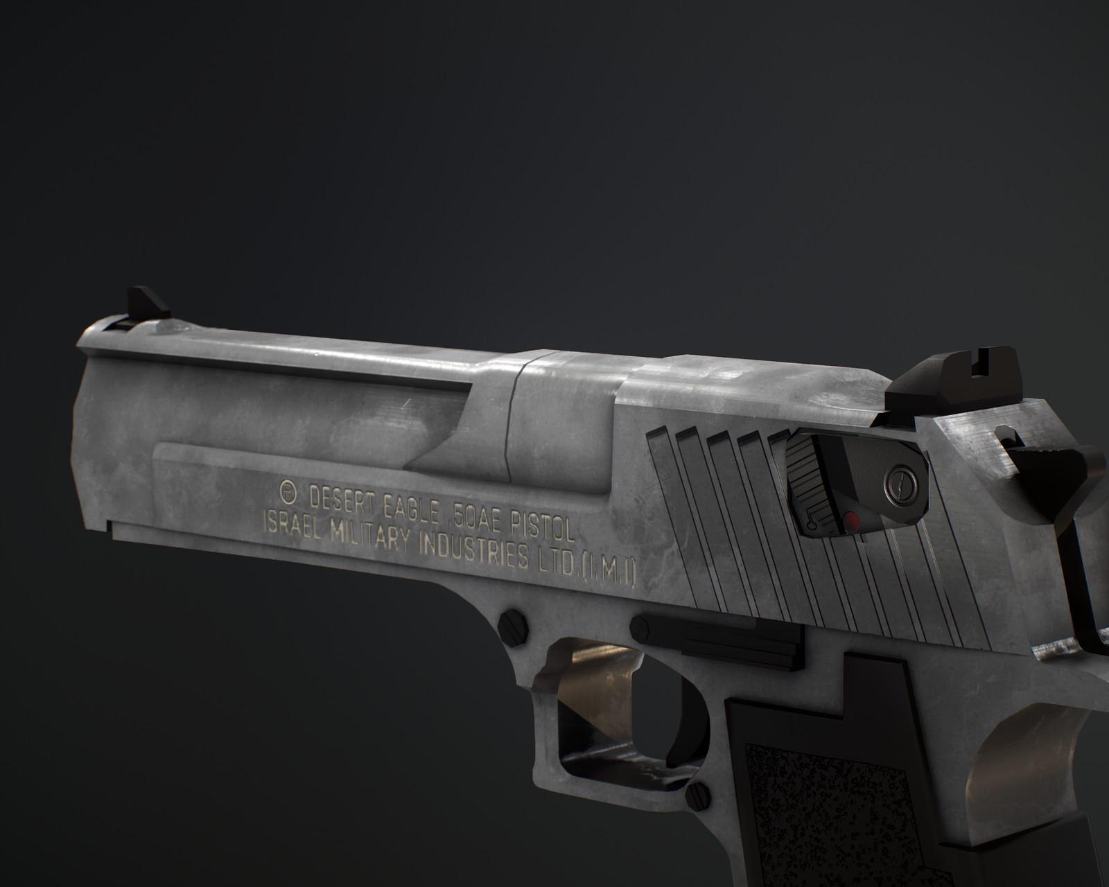 Desert Eagle .50AE Model