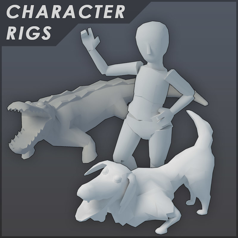 Character and Animal Rigs