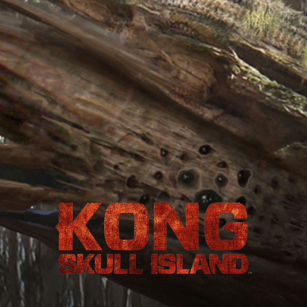Kong: Skull Island Tree Bug and Props