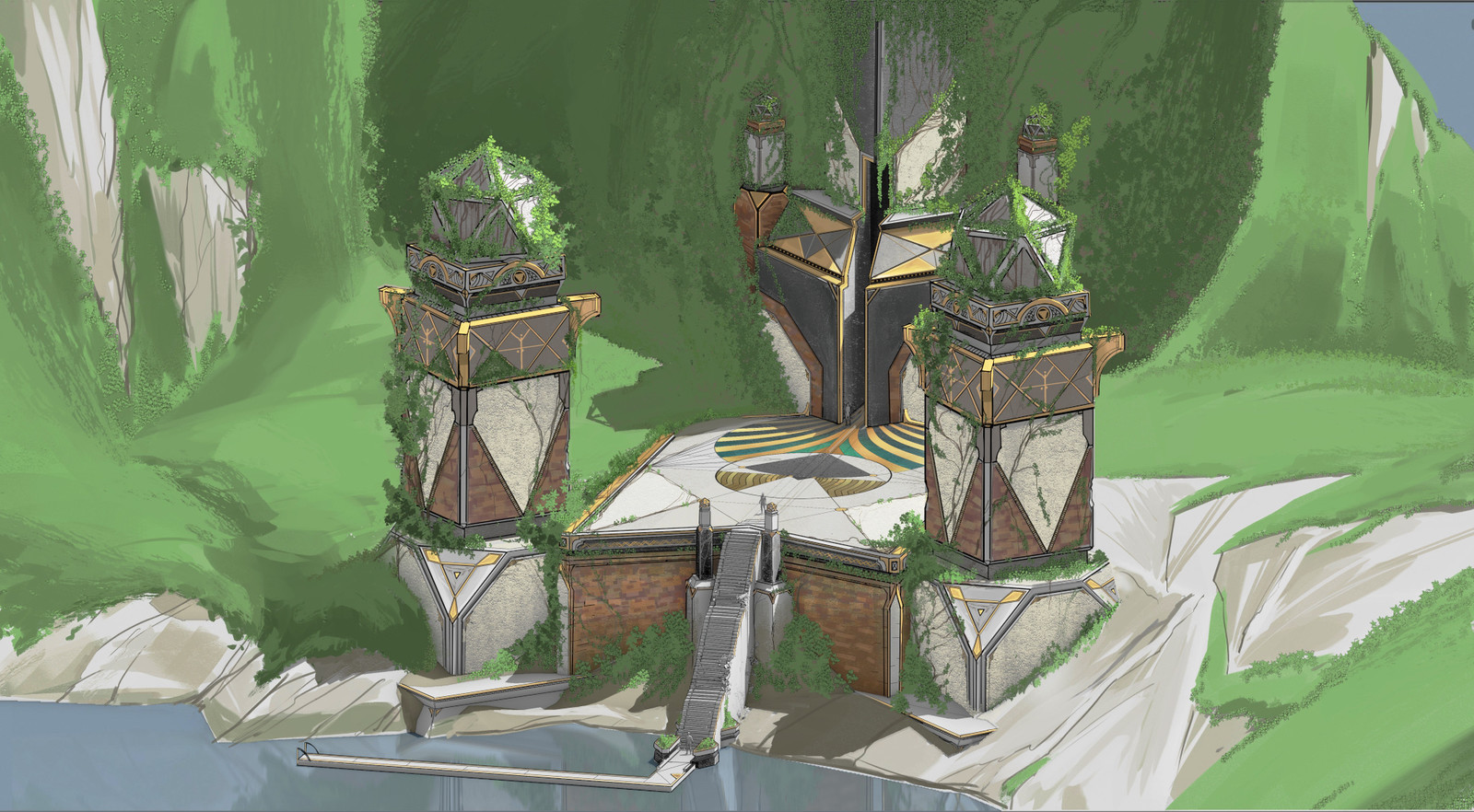 Blessed Isles Vault design
