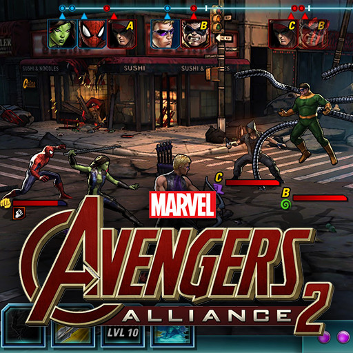 Marvel Avengers Alliance 2 - Environment Art