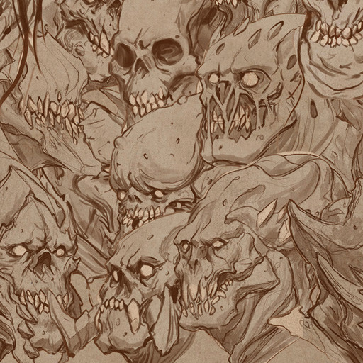 Demons' sketches