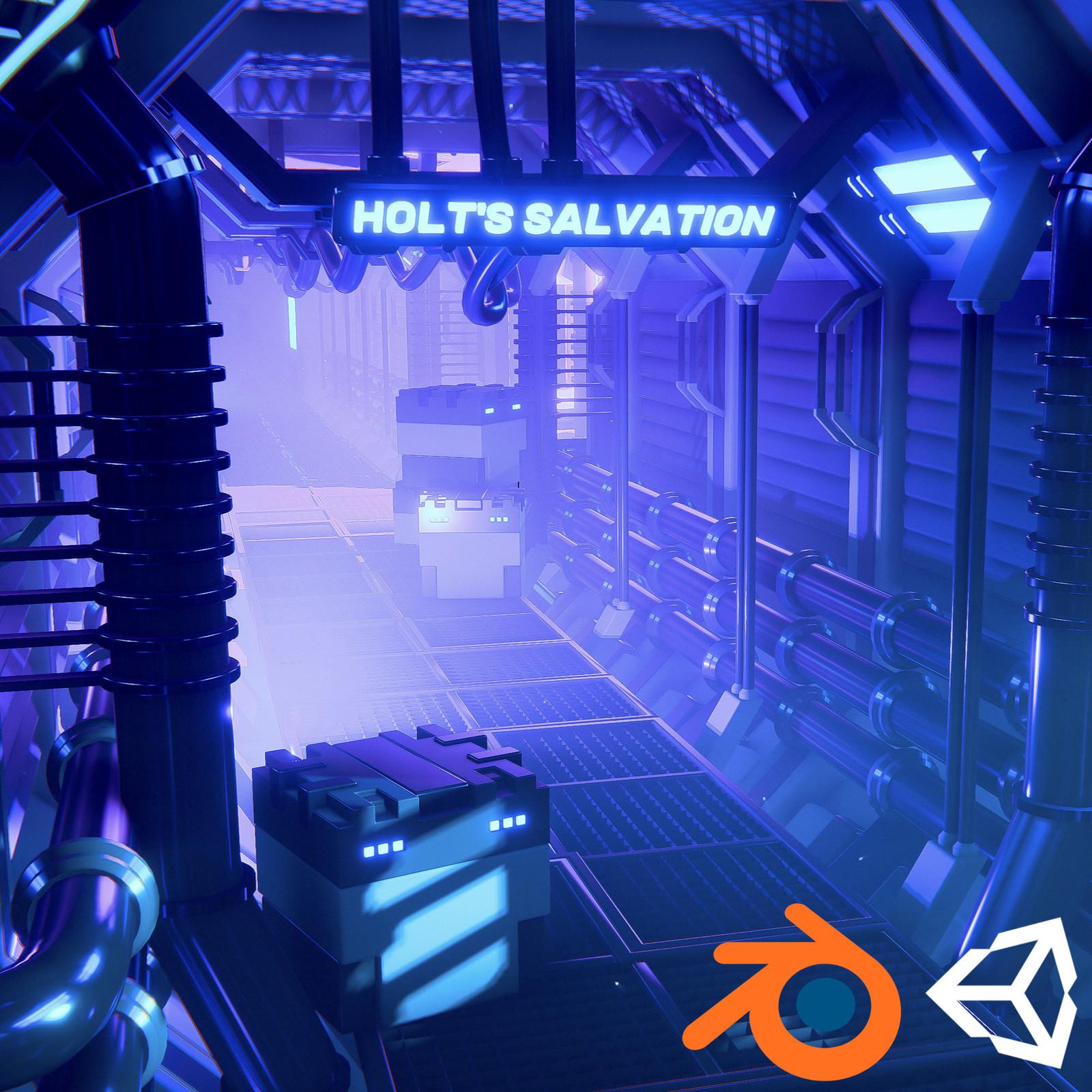 (Tutorial) Sci-Fi Corridor