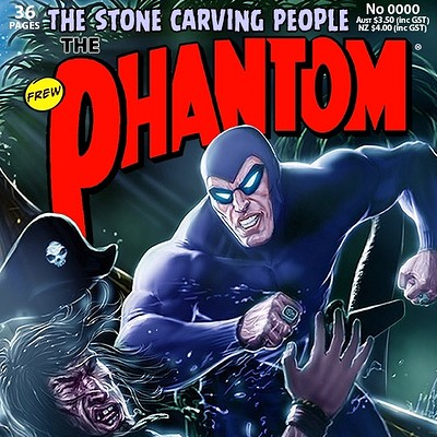 Cover Art for issue #1822 of The Phantom, Frew Publications.