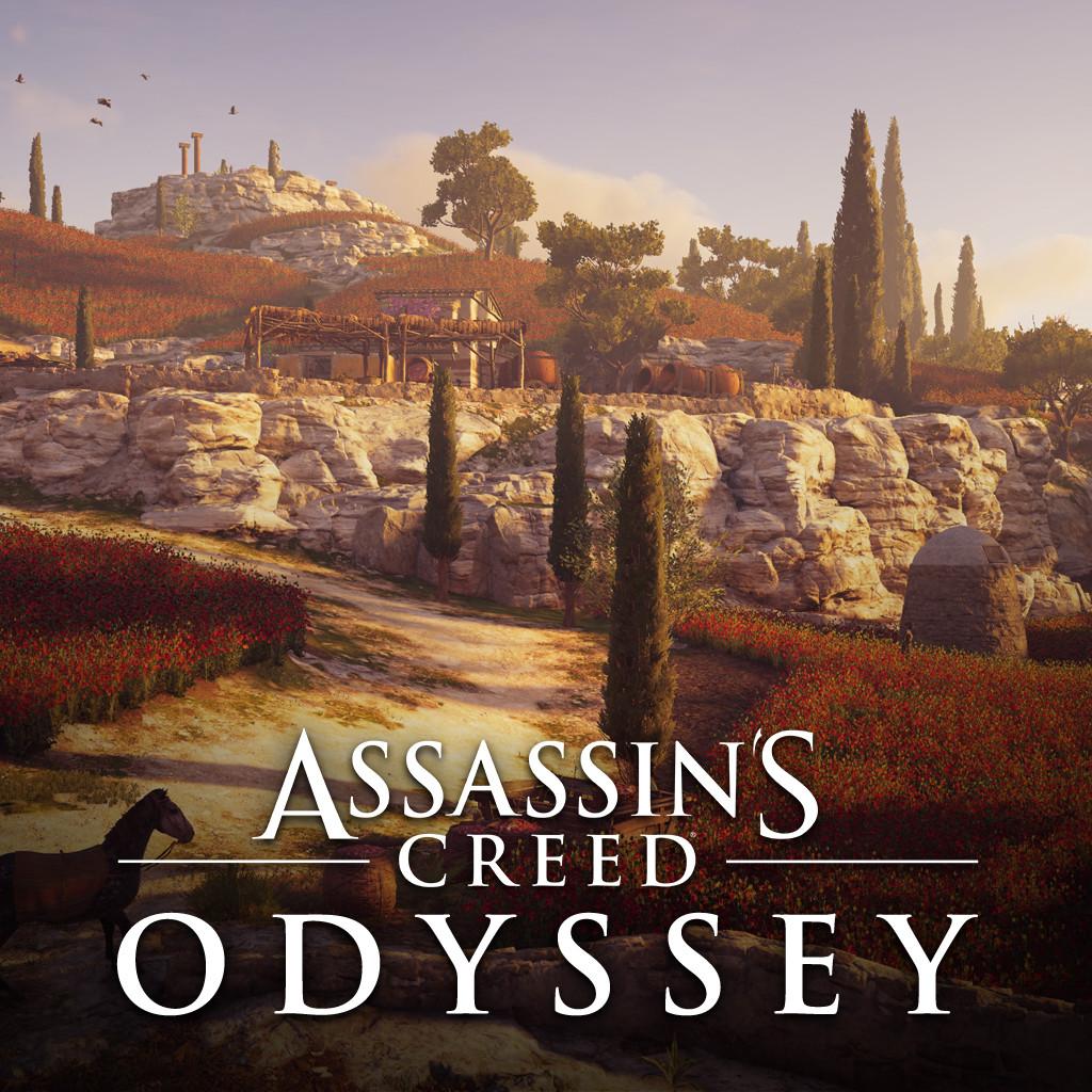 Artstation Assassin S Creed Odyssey Kos Samos Kythera Islands Syarah Mahmood