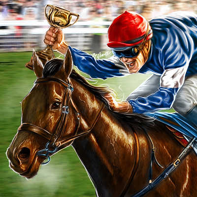 William Hill Melbourne Cup Winners Artwork
