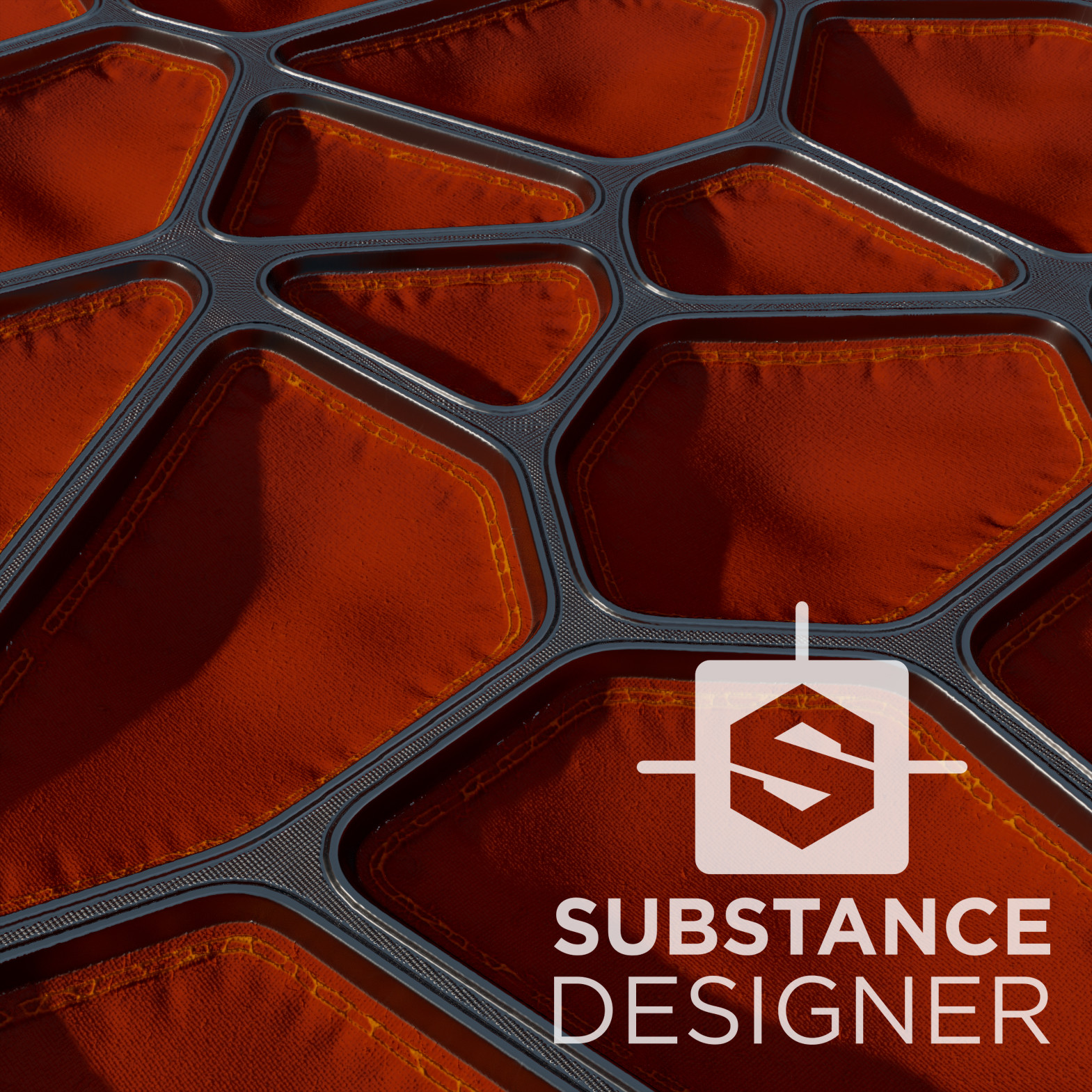 Random_Stuff_01 - 100% procedural, done in Substance Designer