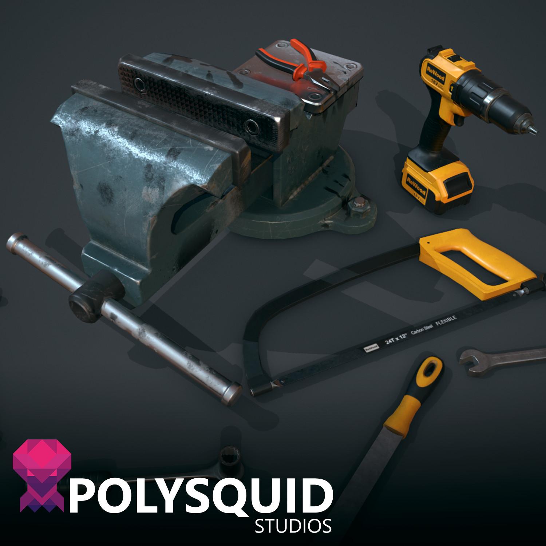 Garage Tool Pack