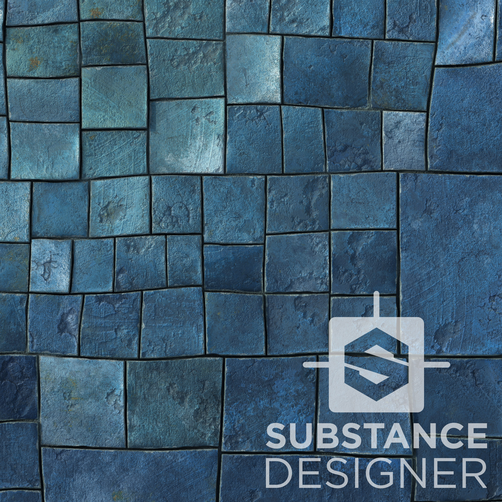 Random Stuff 02 - 100% procedural, Substance Designer