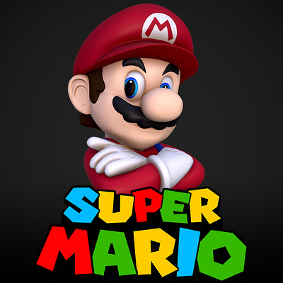 Dean ashley icon mario