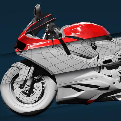 Retrostyle games icons moto artstation
