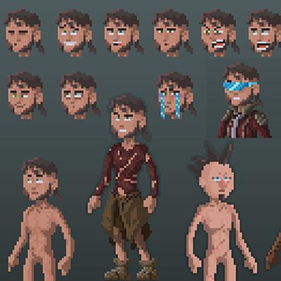 Sebastiaan van asperen art station thumbnails pixel