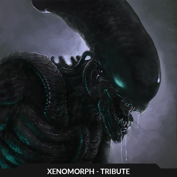 Xenomorph I - tribute illustration