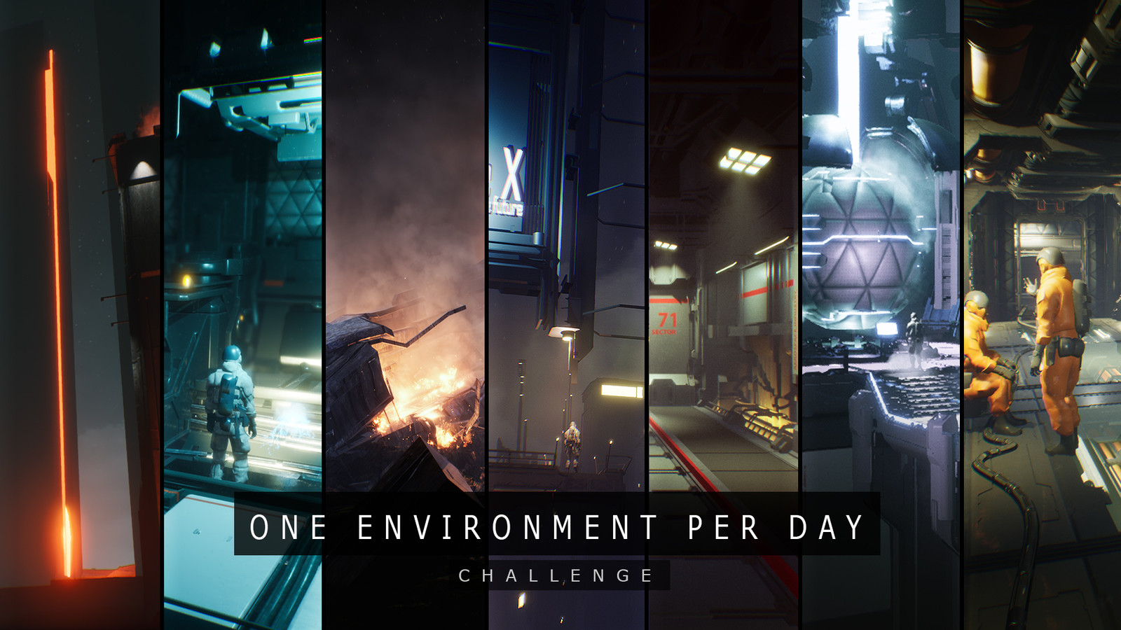 """One environment per day"" challenge."