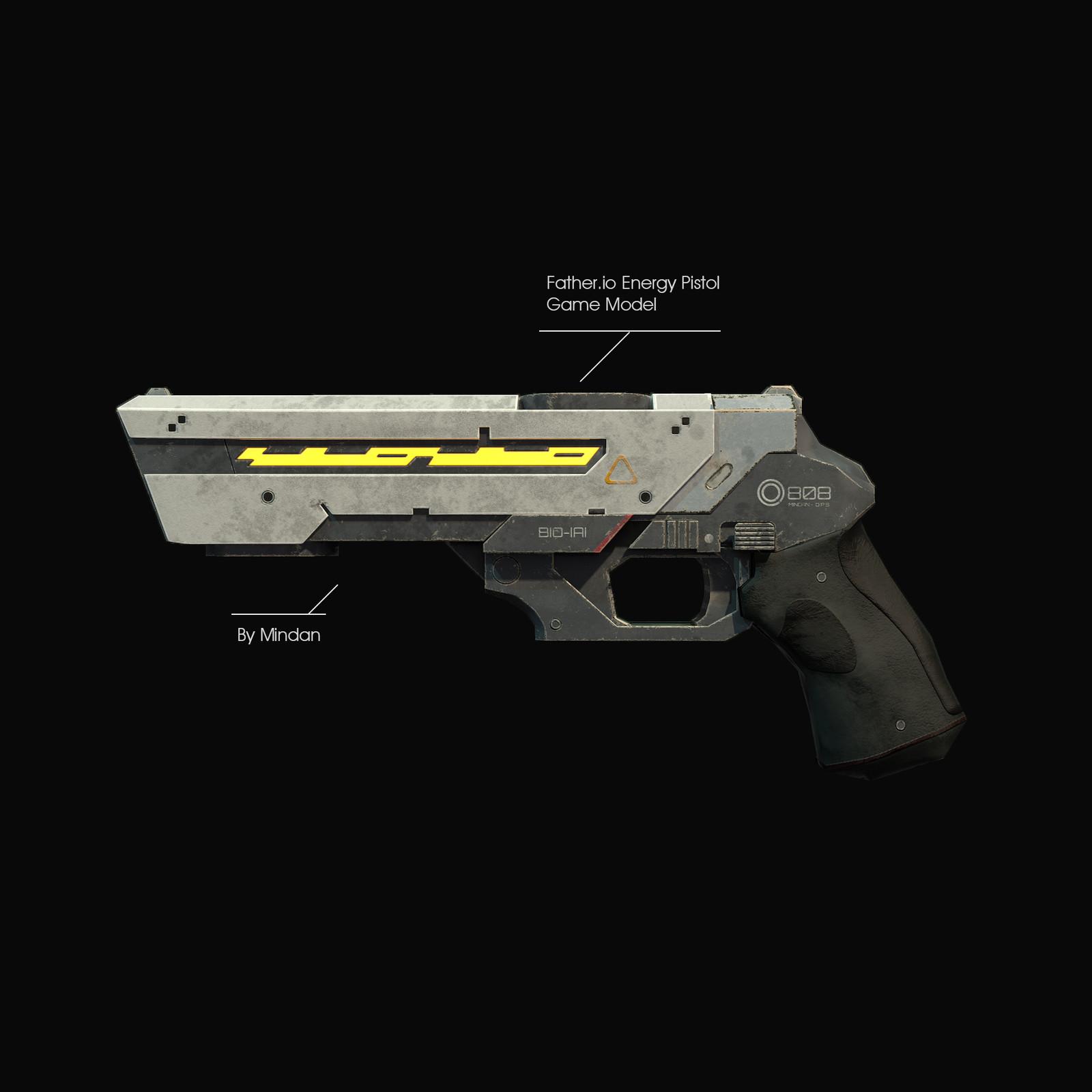 Father.io Energy Pistol ( 3D Model )