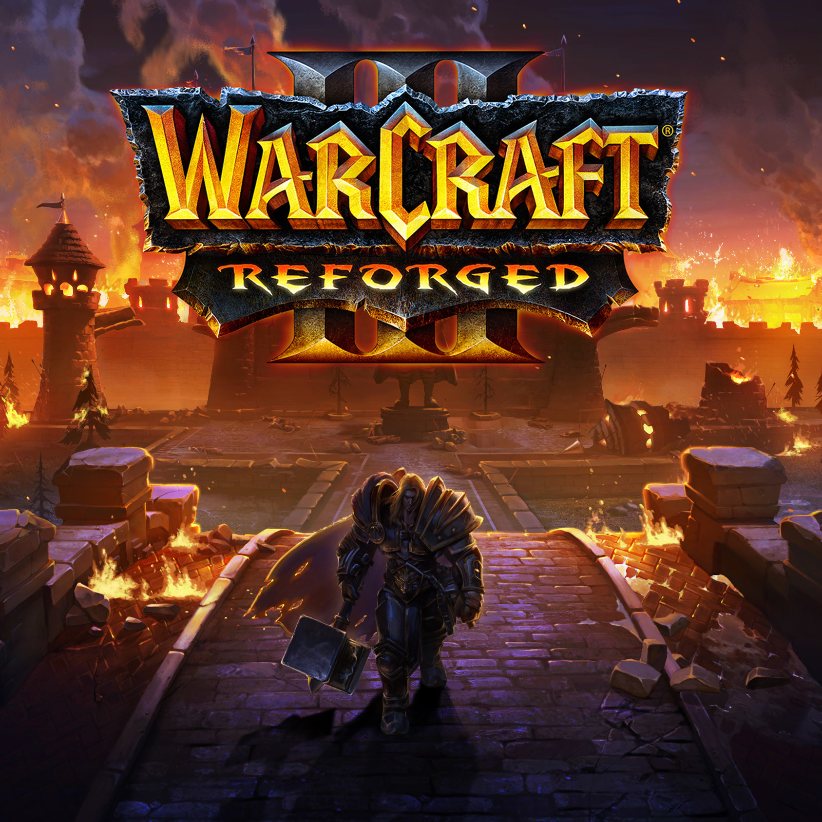 ArtStation - Warcraft III Reforged - Outro Screen, ken wong