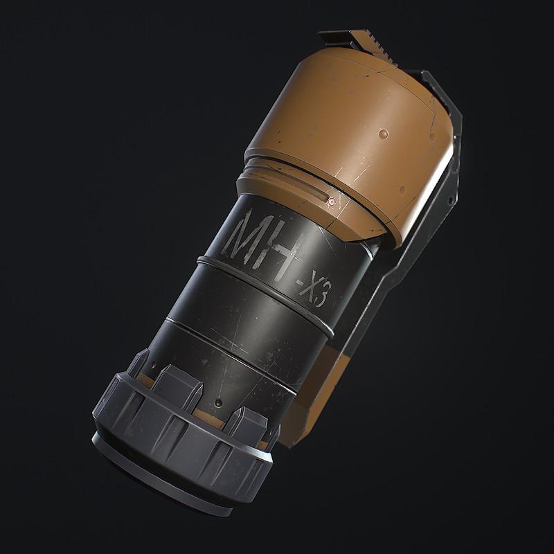 MHX3 Grenade