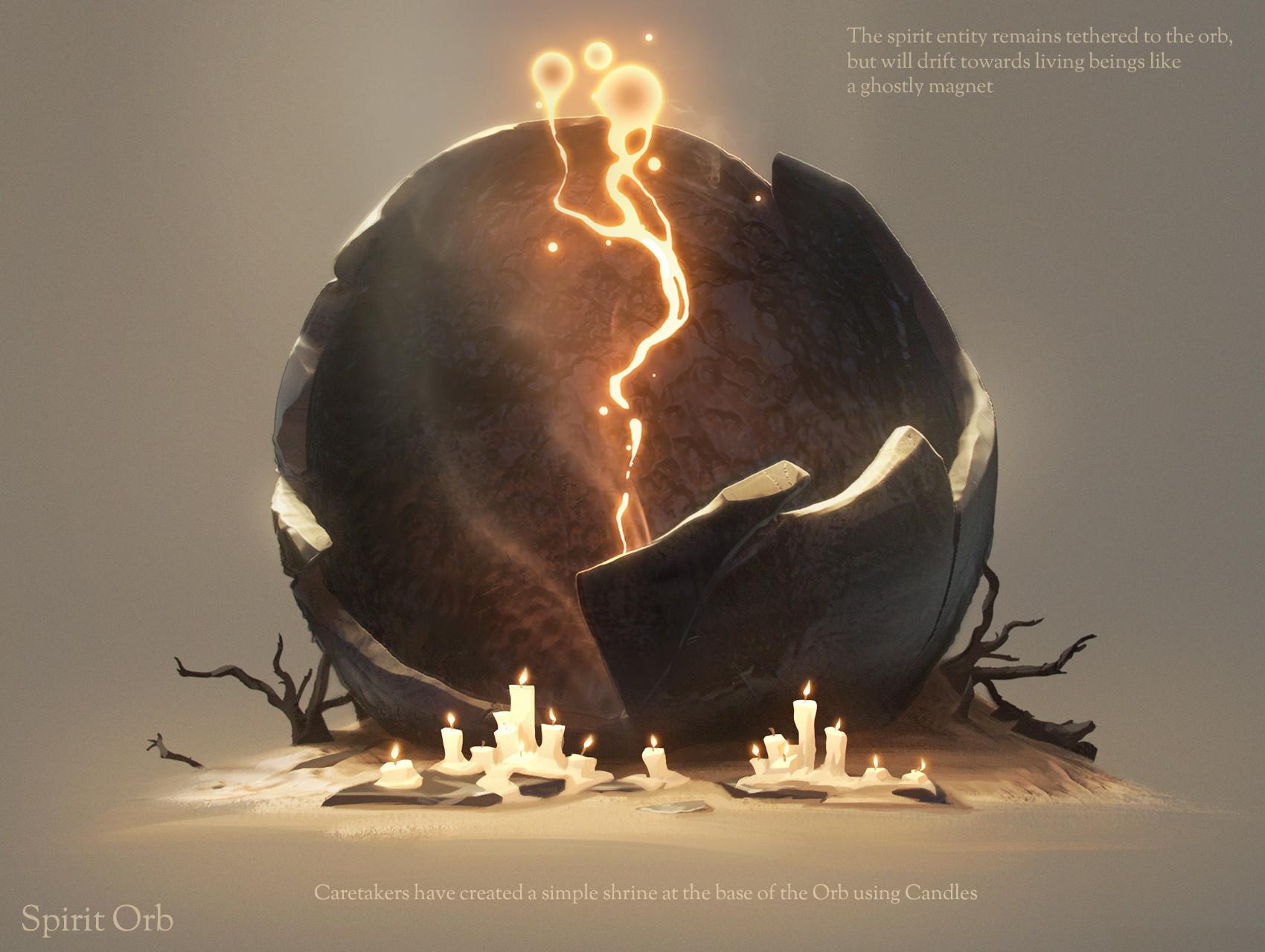 ArtStation - Hollow Dust: Spirit Orbs, Billy Wimblett