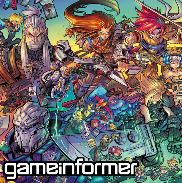 Gameinformer Cover Art June 2017