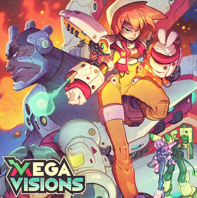 Megavisions Cover Art 07- Burning Rangers