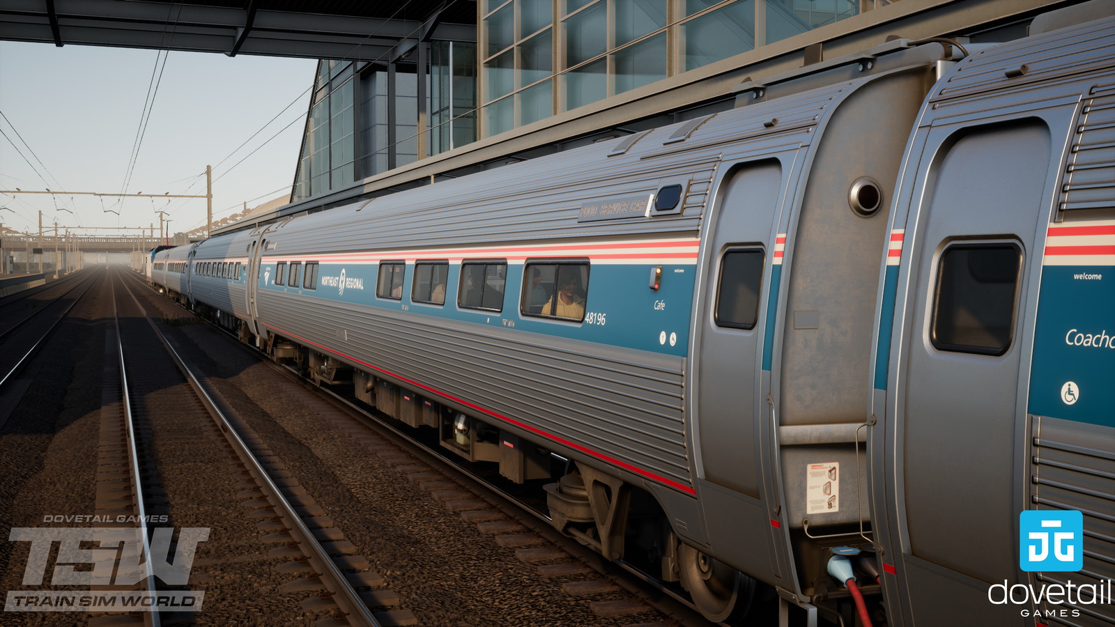 AMTRAK - AMFLEET COACHES