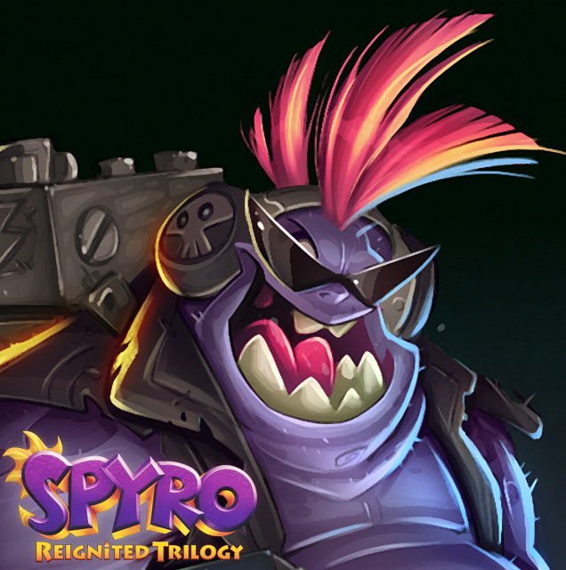 Spyro Reignited Trilogy - Laser Gnorc