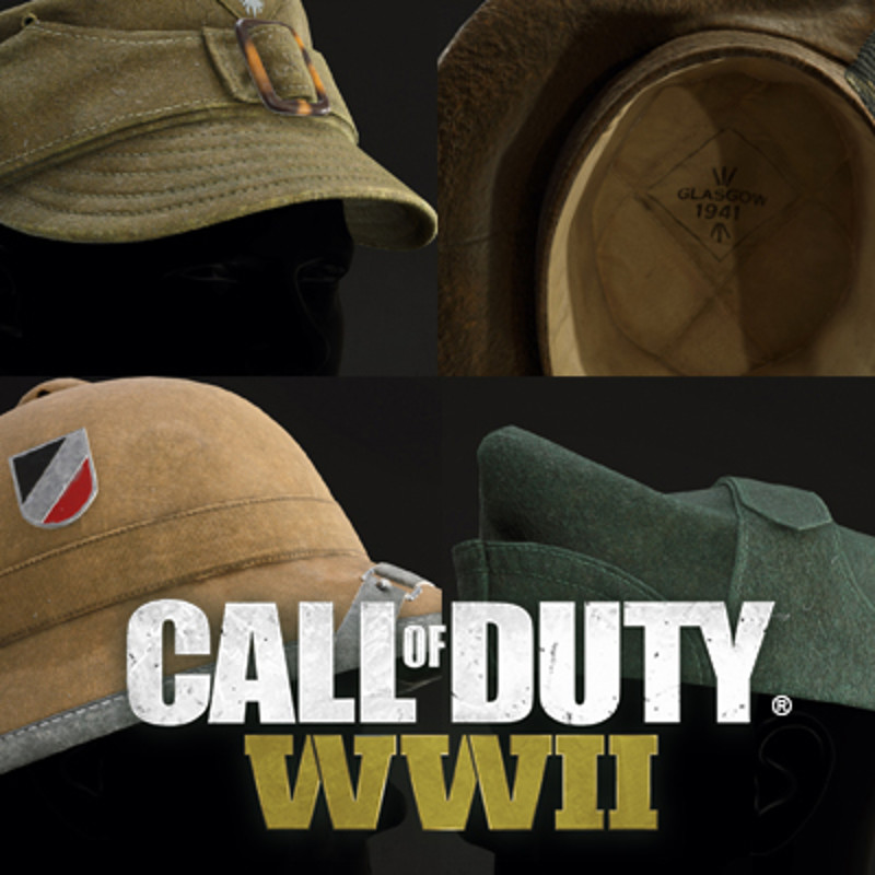 Call of Duty WWII Head assets