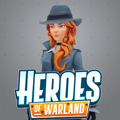 Heroes of Warland: Sniper Male and Female Characters