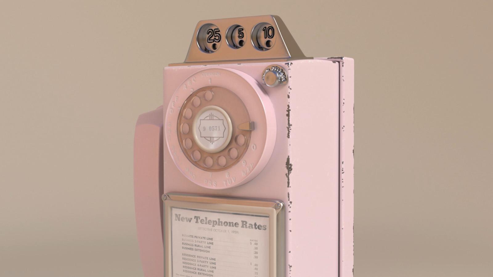 Retro Payphone