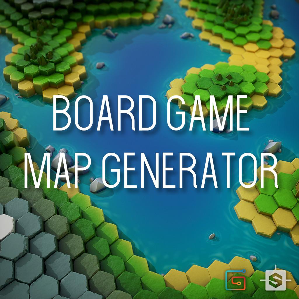 ArtStation - Procedural Board Game Map Generator, Simon Tartar