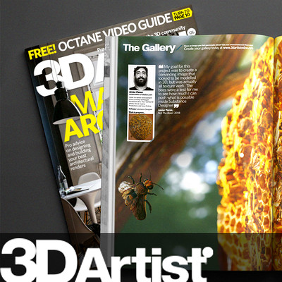 3D Artist Magazine - Issue #126 - Not The Bees!