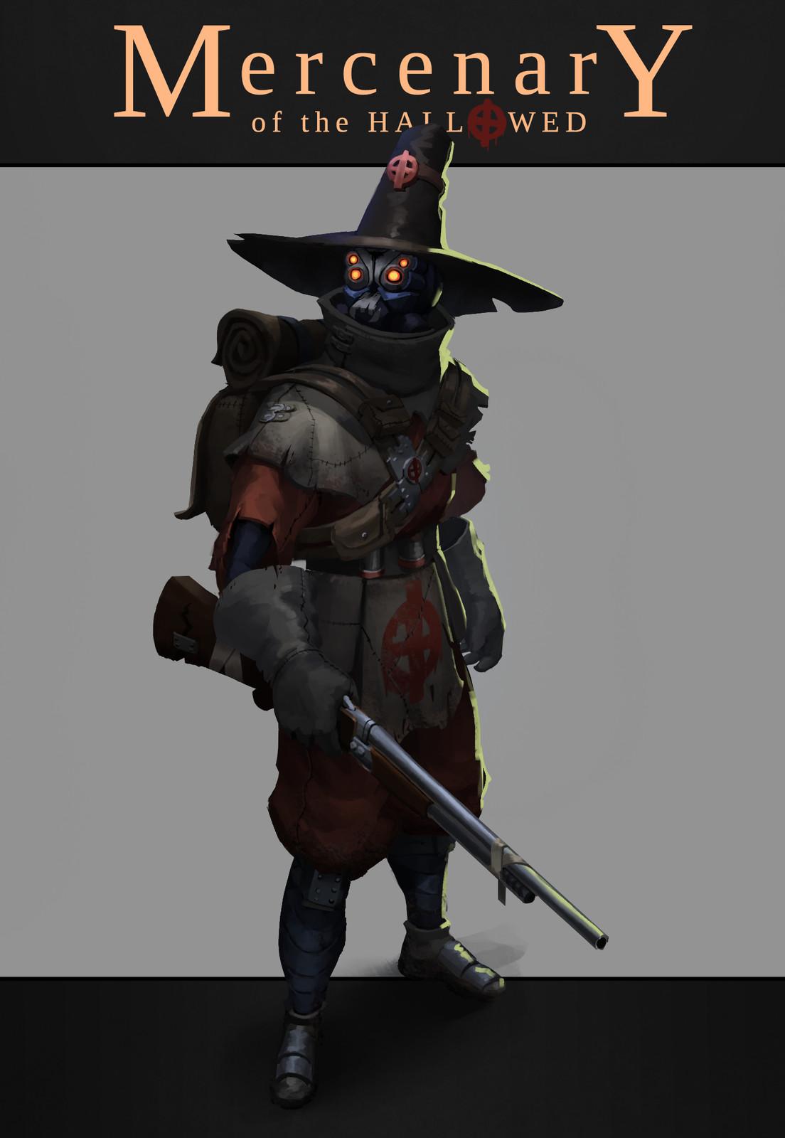 Mercenary of the Hallowed