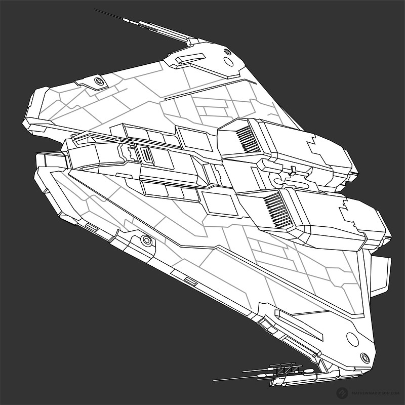 "Elite Dangerous - ""Colour your own ships"""