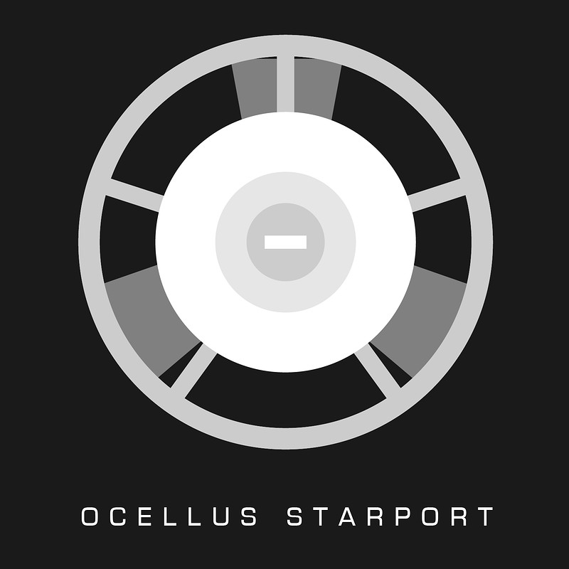 Motion Graphics - Ocellus Starport Graphic