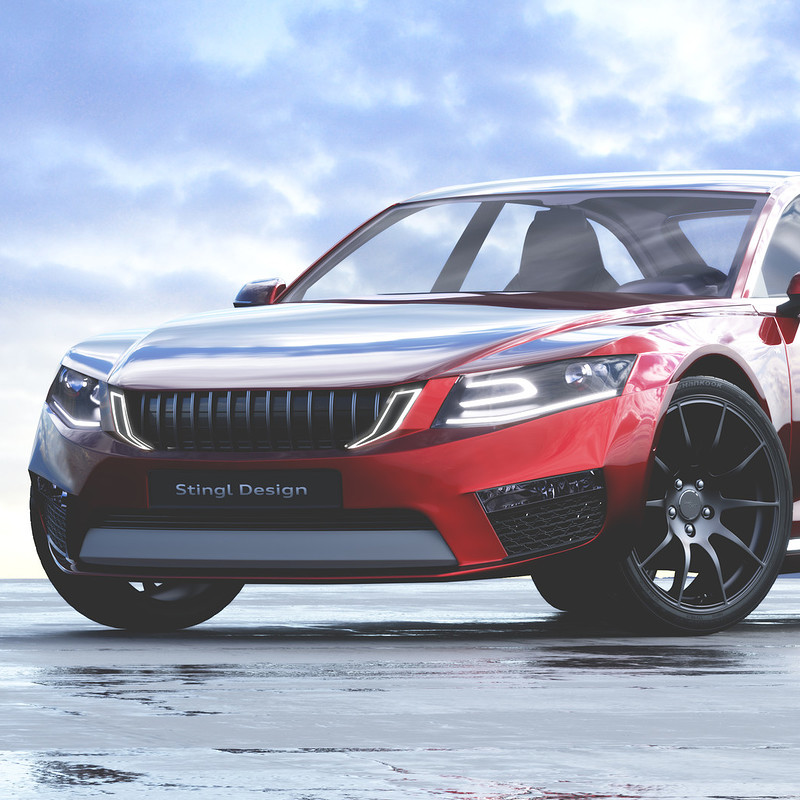 Lauris concept - A Skoda Hommage