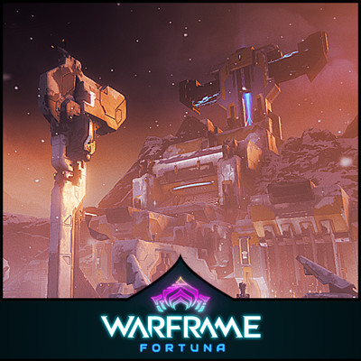 Warframe: Fortuna Update - Spaceport Base