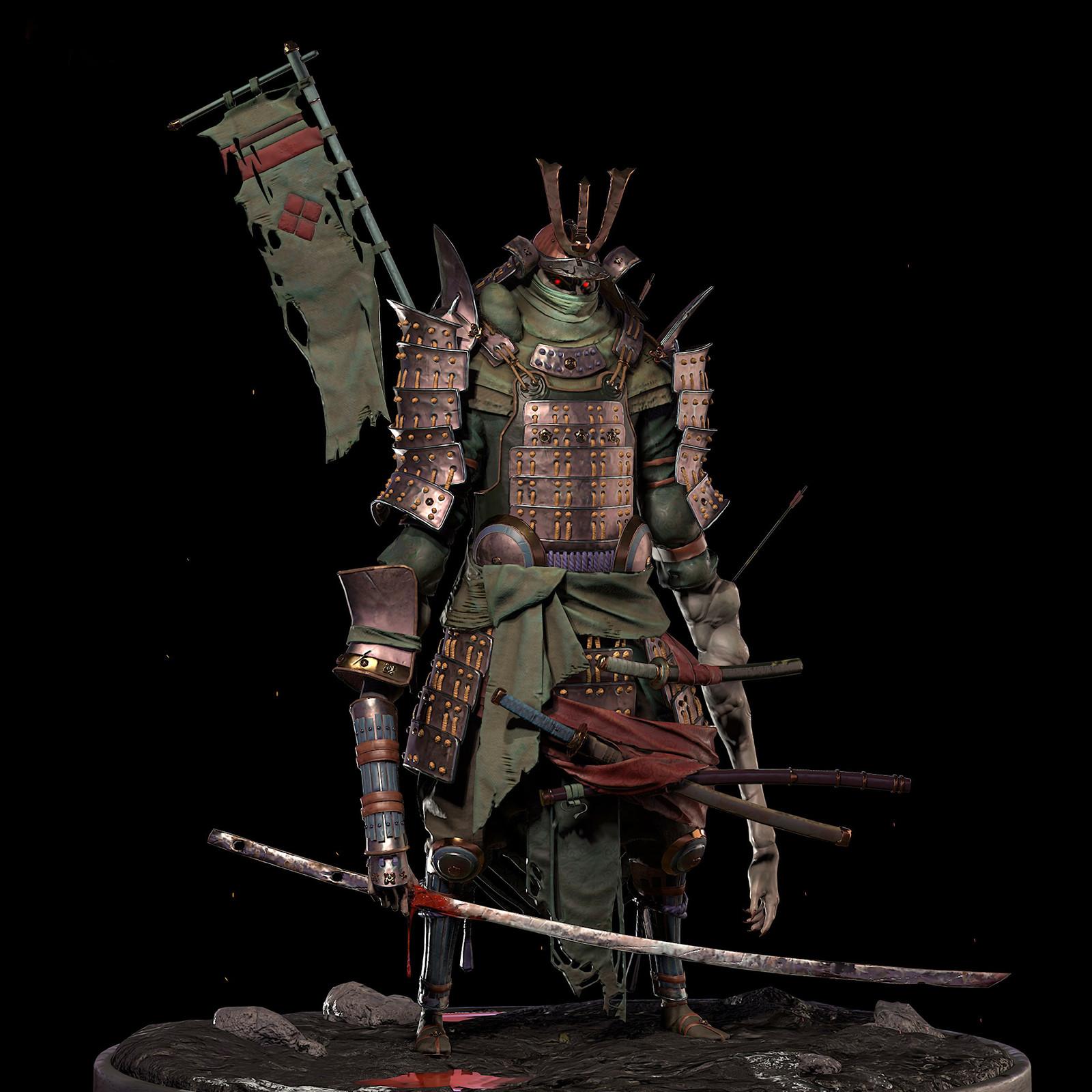 Shogunate Challenge (Game Character)