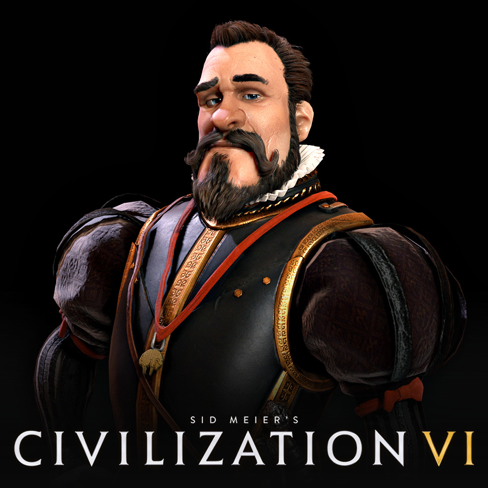 Civilization VI: Phillip of Spain